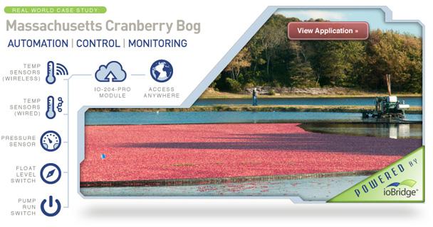 Cranberry Bog Automation